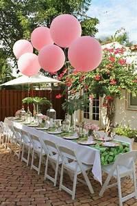 Dcoration Table Anniversaire 50 Propositions Pour L39t
