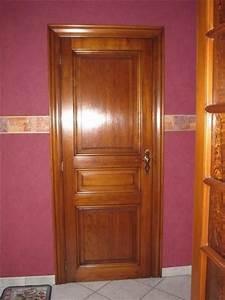 bloc porte interieur bois massif myqtocom With porte de garage enroulable et porte interieur chene massif