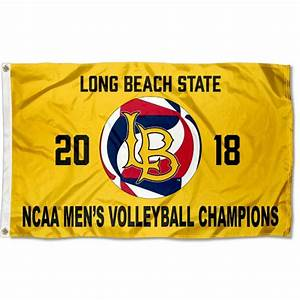 CSULB 49ers Volleyball 2018 Mens National Champions Flag ...