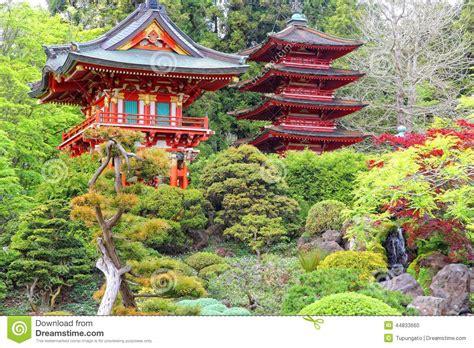 Japanischer Garten Golden Gate Park by Japanischer Garten San Francisco Stockfoto Bild