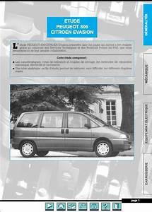 Peugeot 806 Fiat Citroen Evasion Jumpy 1994