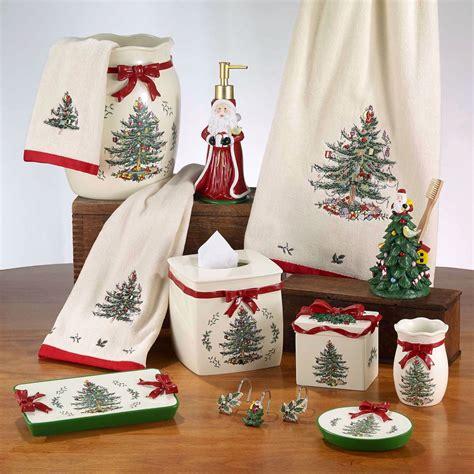 spode christmas bath accessories