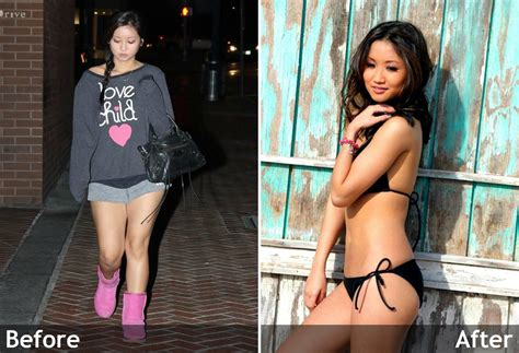 brenda song before after   Celebrity Weight Loss Reporter