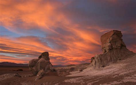 puna de atacama argentina desert landscape rock  sky