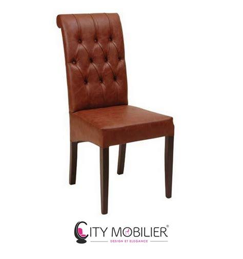 grande chaise en bois et au dossier capitonn 233 tynea