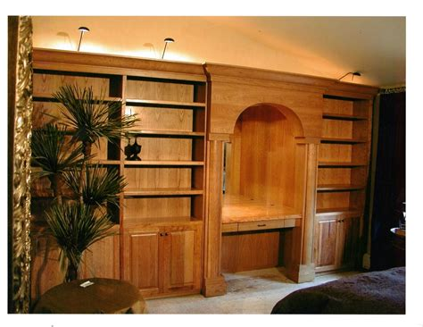 hand crafted bedroom wall cabinets  parker custom