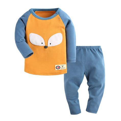 cotton pajamas size 3 baby house clothes 2 pcs top babies set sleeve