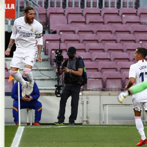 Sergio Ramos' Penalty Seals Win for Real Madrid vs. Lionel ...