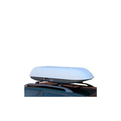 coffre de toit 430l silver