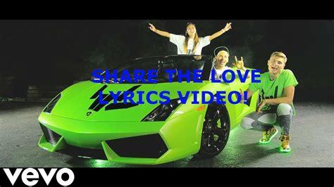 stephen sharer share  love lyrics video youtube