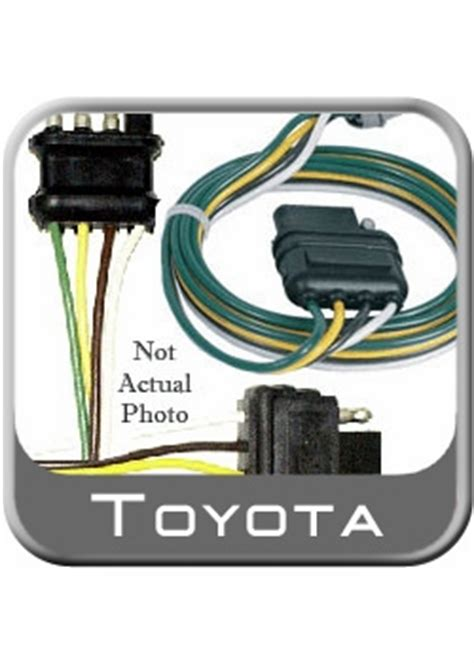 Toyotum Tundra Trailer Wiring Harnes by New 2007 2011 Toyota Tundra Trailer Wiring Harness From