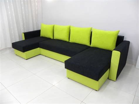 Double Chaise Sofa Beds