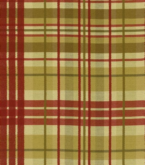 Waverly Plaid Fabric Curtains by Home Decor Fabric Waverly Pleasantville Plaid Antique Jo