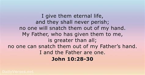 bible verses  eternal life dailyversesnet