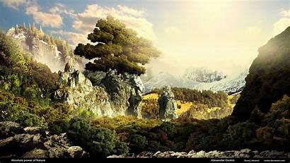 Fantasy Landscapes 3d Landscape Wallpoper Epic Backgrounds