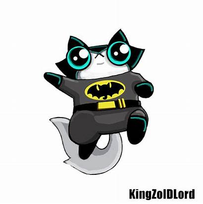 Cat Batman Funny Comic Hero Adoptable Deviantart