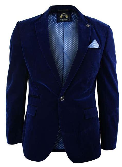 maroon velvet jacket mens mens velvet royal blue blazer jacket slim fit smart casual