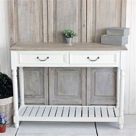 white wood console table white console table bliss and bloom ltd