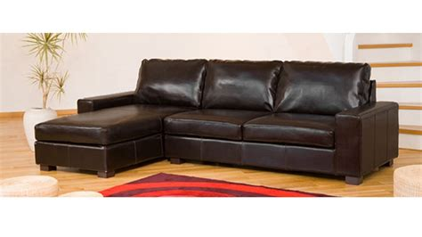 leather corner sofa  black brown cream red homegenies
