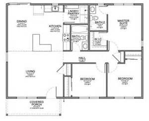 Top Photos Ideas For Cheap Small House Plans by Floor Plan For Affordable 1 100 Sf House With 3 Bedrooms