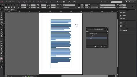 paragraph styles indesign cc tutorial  youtube
