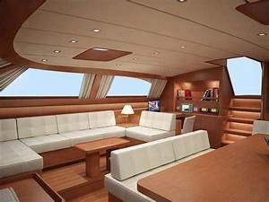 Yacht De Luxe Interieur : ma tres design int rieur de yacht bateau int rieur bateau interieur et design ~ Dallasstarsshop.com Idées de Décoration