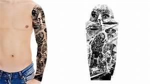 designing a sleeve tattoo template - custom tattoo sleeve designs custom tattoo design
