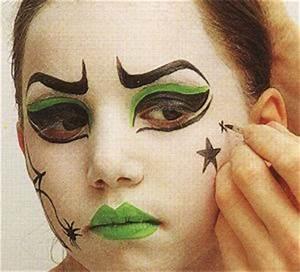 Maquillage Halloween Enfant Facile : maquillage halloween facile pour enfant ou trouver ~ Nature-et-papiers.com Idées de Décoration