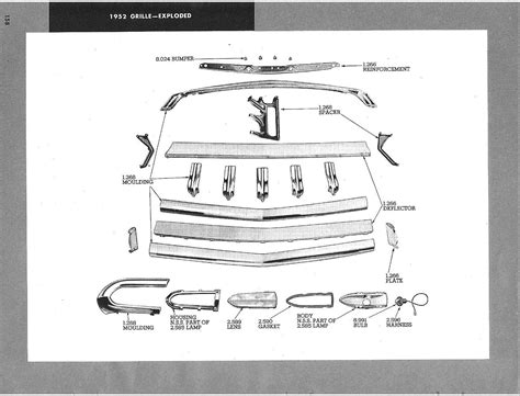 1951 grille parts horseshoes chevytalk free