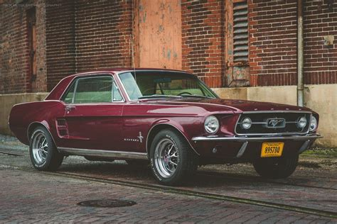 Cherry '67 Mustang Coupe