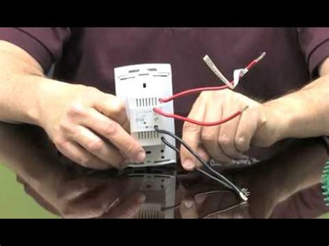 How Wire Thermostat Youtube