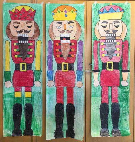 draw  giant nutcracker art projects  kids