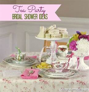tea party bridal shower ideas With tea party wedding shower