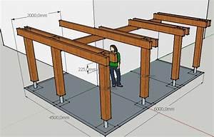 construire une terrasse en bois sur pilotis evtod With plan d une terrasse en bois sur pilotis