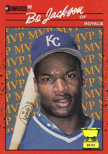 Maybe you would like to learn more about one of these? Ten Most Valuable Baseball Cards   Baseball Card Bust: Bo Jackson, 1990 Donruss MVP   Rarest ...