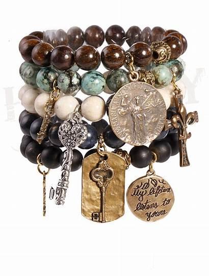 Jewelry Bracelets Honesty Together Necklaces Strength Silver