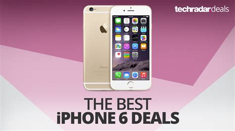 The best iPhone 6 deals in January 2018