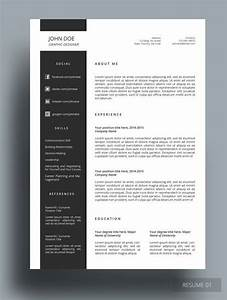 Ozer Resume This Resume Template Is Professionally Designed For Those Who Like Simple  Organized