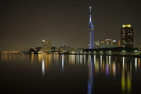 Fukuoka Tower the Softbank Hawks & the Beach