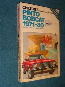 Sell 1971  Mercury Bobcat Shop Manual    Chiltons Book 73 74 75 76 77 Motorcycle
