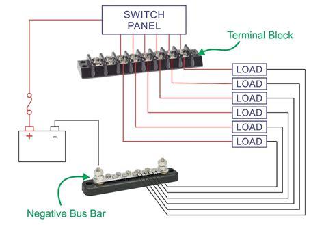 Marine Terminal Blocks Circuits New Wire