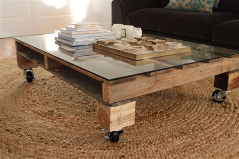 It is made entirely from reclaimed pallets including posts and skirt as well. DIY pallet coffee table