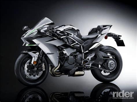 Limited Edition Kawasaki H2 Carbon Motorcycle