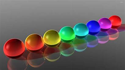 Spheres Glass Colorful Abstract Balls Wallpapers Esferas