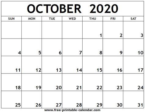 october  calendar   aashe