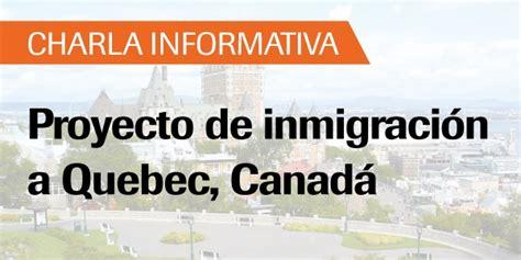 bureau d immigration du charla informativa proyecto de inmigraci 243 n a canad 225 universidad de lima