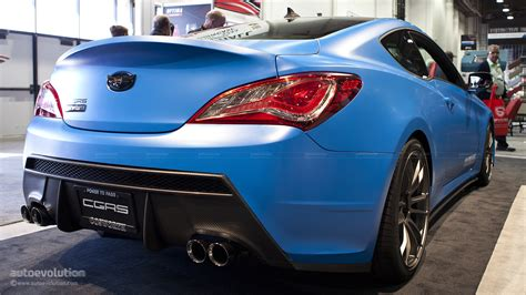 View detailed specs, features and options for all the 2012 hyundai genesis coupe configurations and trims at u.s. 2012 SEMA: The Cosworth Hyundai Genesis Coupe Racing [Live ...