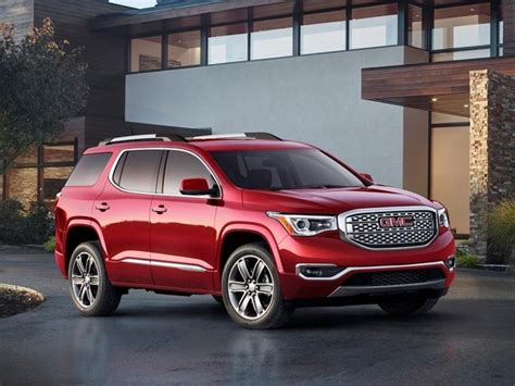 gmc acadia redesigned kelley blue book