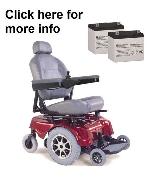 jazzy power chair battery pride mobility jazzy 1100 power wheelchair battery sp12 55