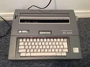Smith Corona Typewriter Photos Of Smith Corona Dx